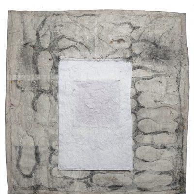 Technique mixte sur papier ⧽120 x 120 cm © 2019