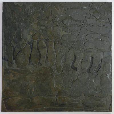 Technique mixte ⧽120 x 120 cm © 2019